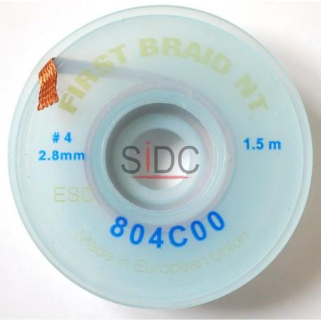 Tresse à dessouder 2.8mm No Clean