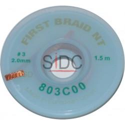 Tresse à dessouder 2.0 mm No Clean