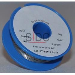 Bobine de soudure sans plomb 0.5mm 50g