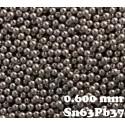Bille de 0.60mm SnPb 25K